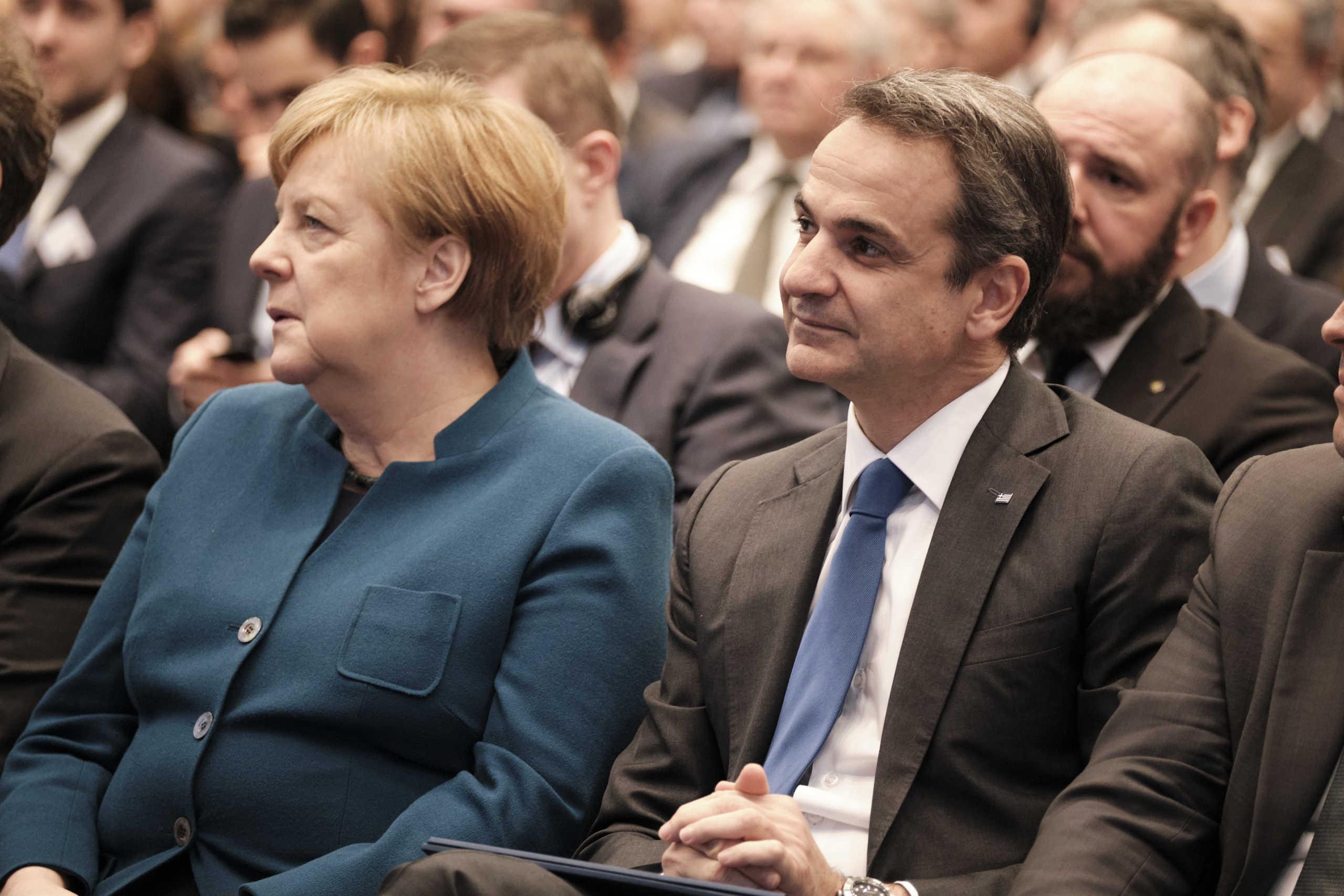 Κοινή γραμμή Μητσοτάκη - Μέρκελ για μεταναστευτικό και Τουρκία - Τι περιμένει η Ελλάδα από εδώ και πέρα