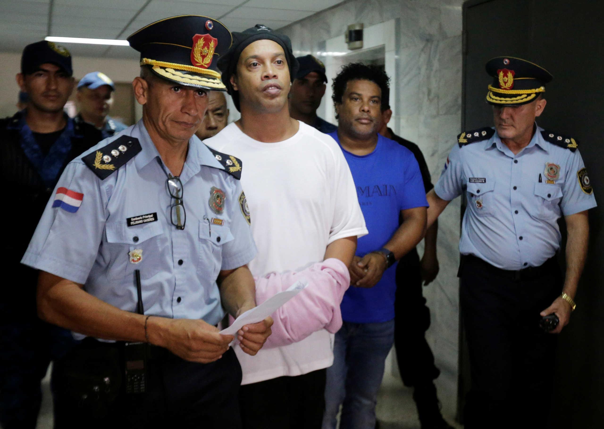 Video με τον Ροναλντίνιο μέσα στη φυλακή