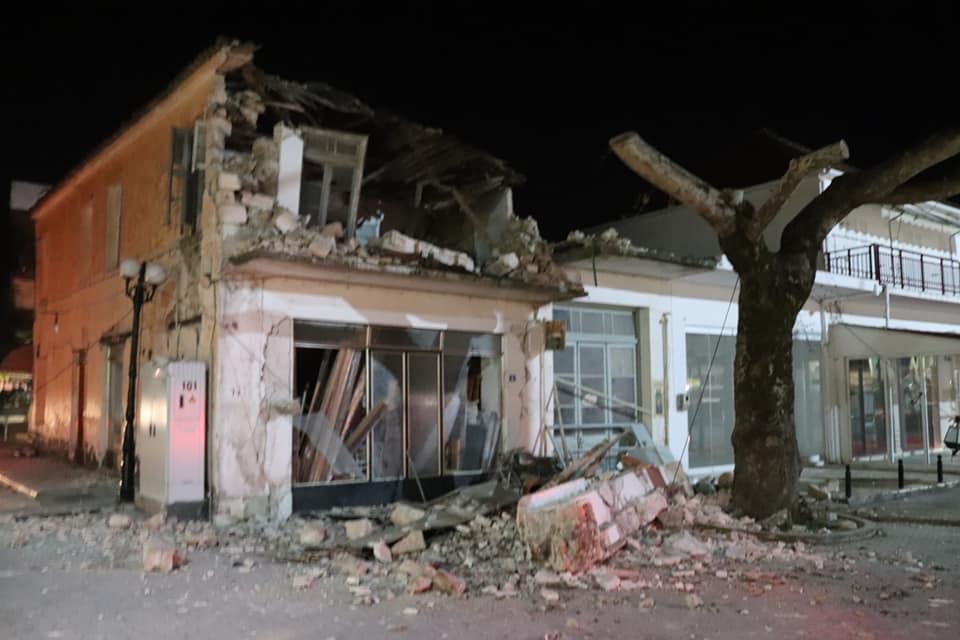 Το ρήγμα της Παραμυθιάς... υπεύθυνο για τον σεισμό στην Πάργα - Συγκλονιστικές εικόνες....
