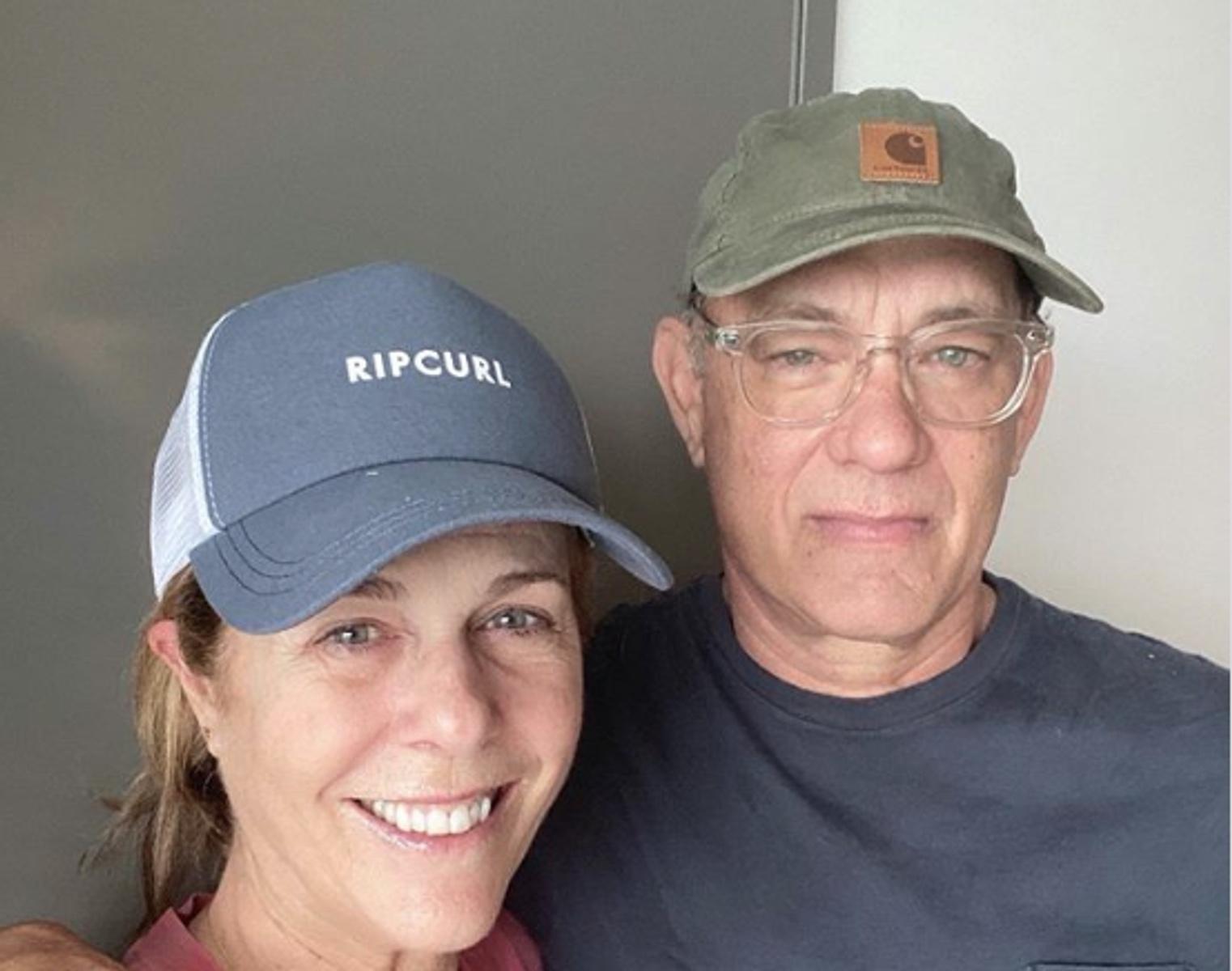 Τομ Χανκς και Ρίτα Γουίλσον στην Αντίπαρο