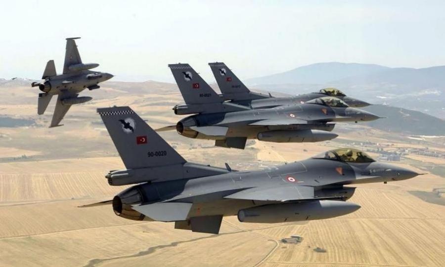 Νέες τουρκικές υπερπτήσεις πάνω από την Ρω