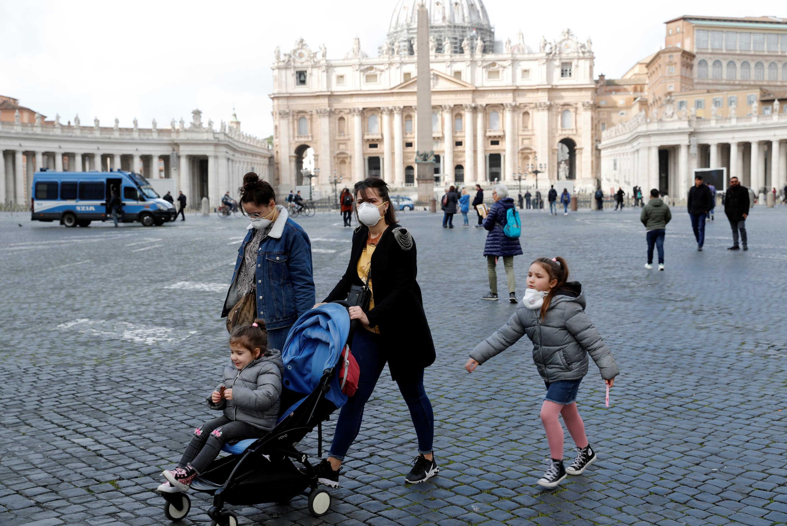 Ο κορονοϊός «έφτασε» στο Βατικανό! Πρώτο επιβεβαιωμένο κρούσμα