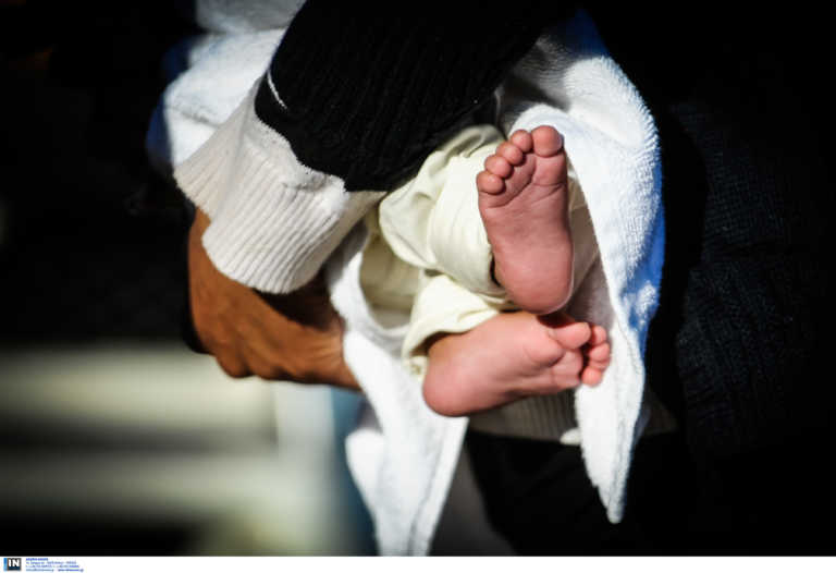 Λαμία: Βρέφος 27 ημερών διαγνώστηκε με κορονοϊό