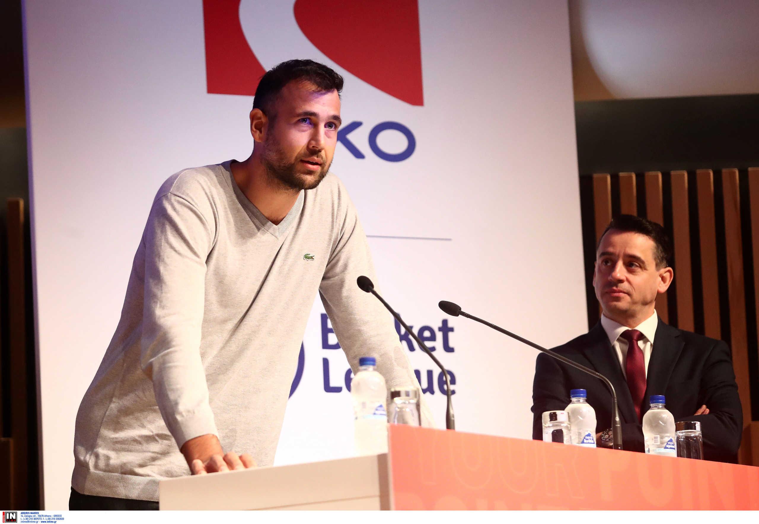 """Γλυνιαδάκης: """"Δεν πρόκειται να υπάρξει οικονομική συμφωνία παικτών και ΕΣΑΚΕ"""""""