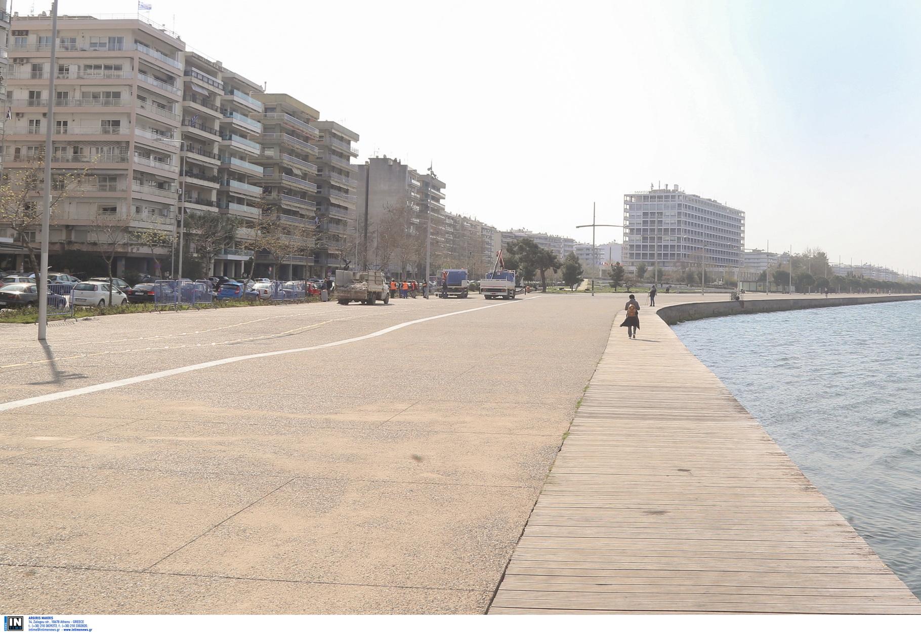 """Ο κορονοϊός """"σκοτώνει"""" την εγκληματικότητα στη Θεσσαλονίκη"""