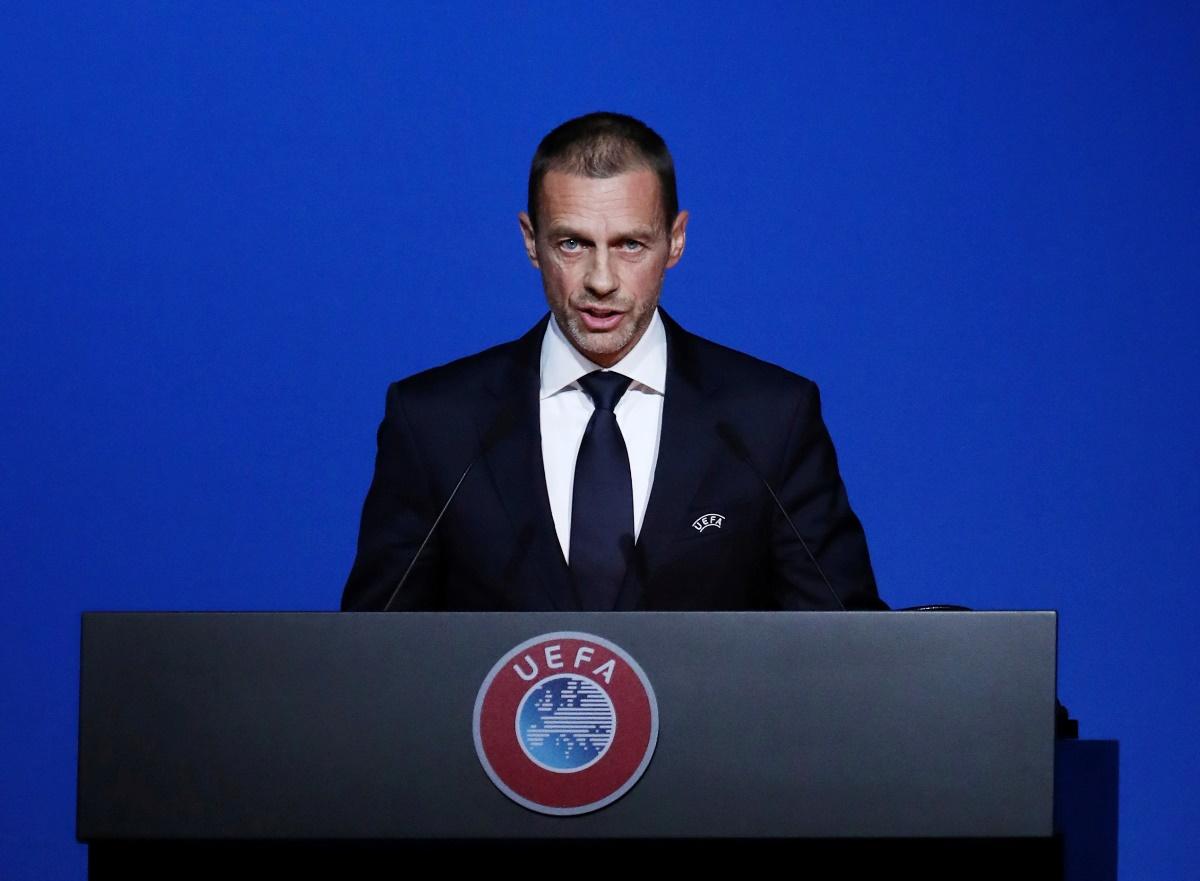 O πρόεδρος της UEFA δήλωσε σίγουρος για την ολοκλήρωση της σεζόν