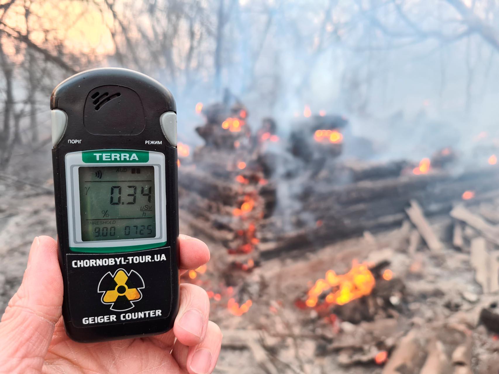 Τσέρνομπιλ: Τι δείχνουν οι μετρήσεις στην Ελλάδα μετά τη φωτιά κοντά στον πυρηνικό σταθμό