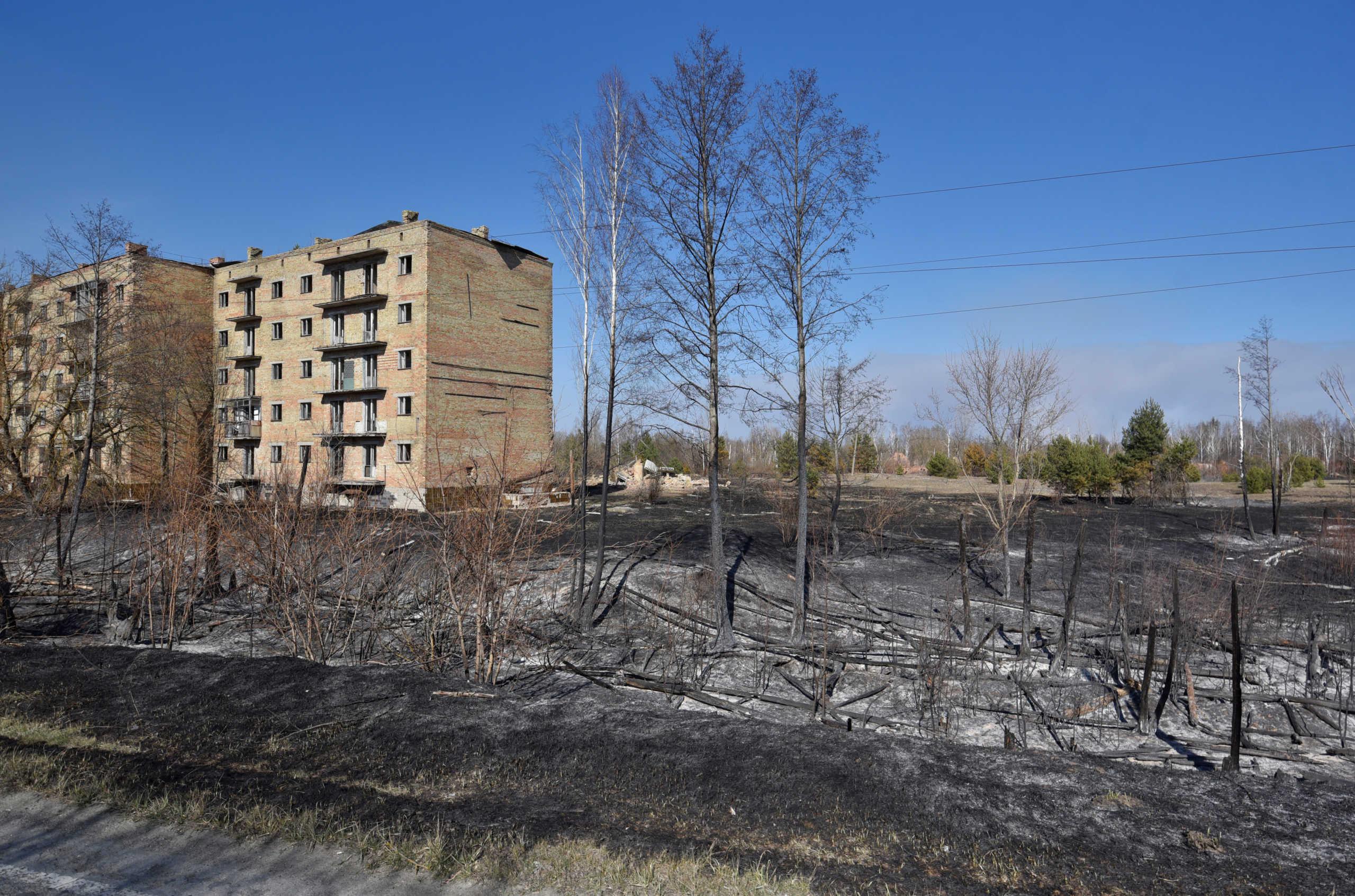 Πυρκαγιά στο Τσερνόμπιλ: Βρέθηκε απειροελάχιστη ποσότητα ραδιενέργειας στην Ελλάδα