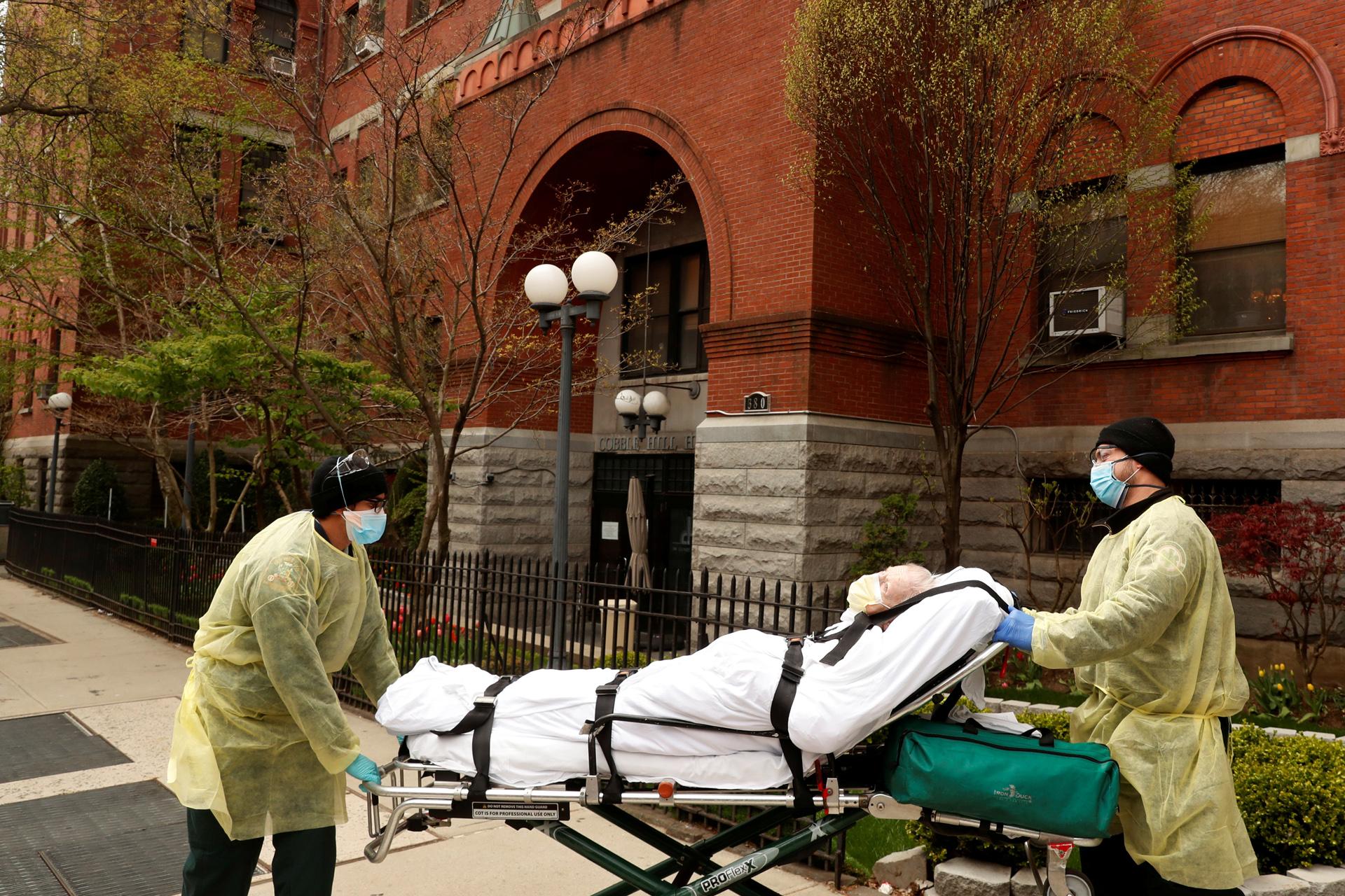Νέα Υόρκη – Κορονοϊός: Ενδέχεται να έγινε υποκαταμέτρηση ως και 50% των νεκρών στα  γηροκομεία
