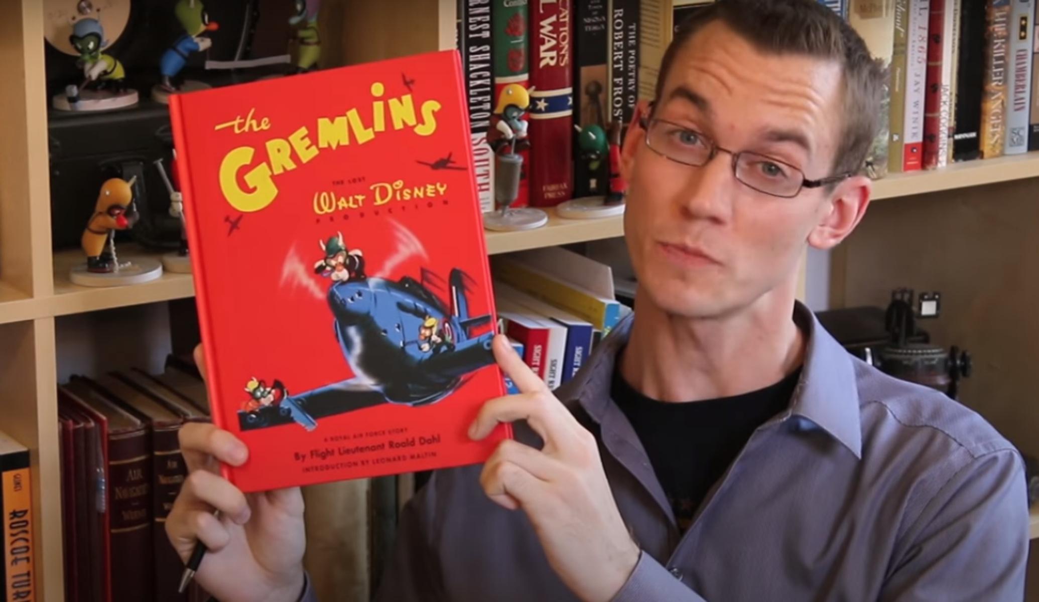 Σπάνιο αντίτυπο του βιβλίου «The Gremlins» θα πωληθεί σε δημοπρασία τον Μάιο