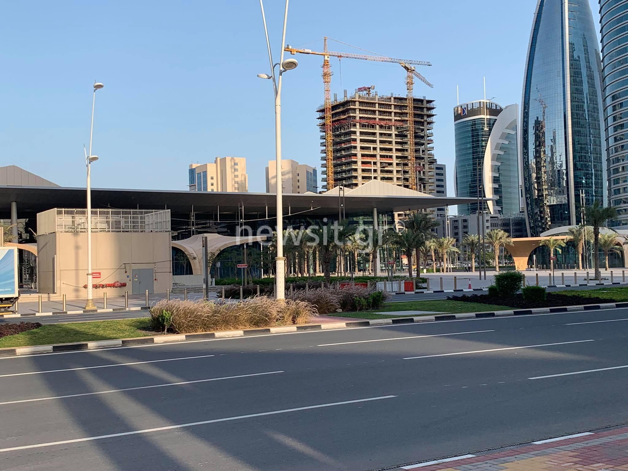 Το newsit.gr στο Κατάρ: Δεν σταματούν ούτε λεπτό λόγω κορονοϊού οι εργασίες για το Μουντιάλ