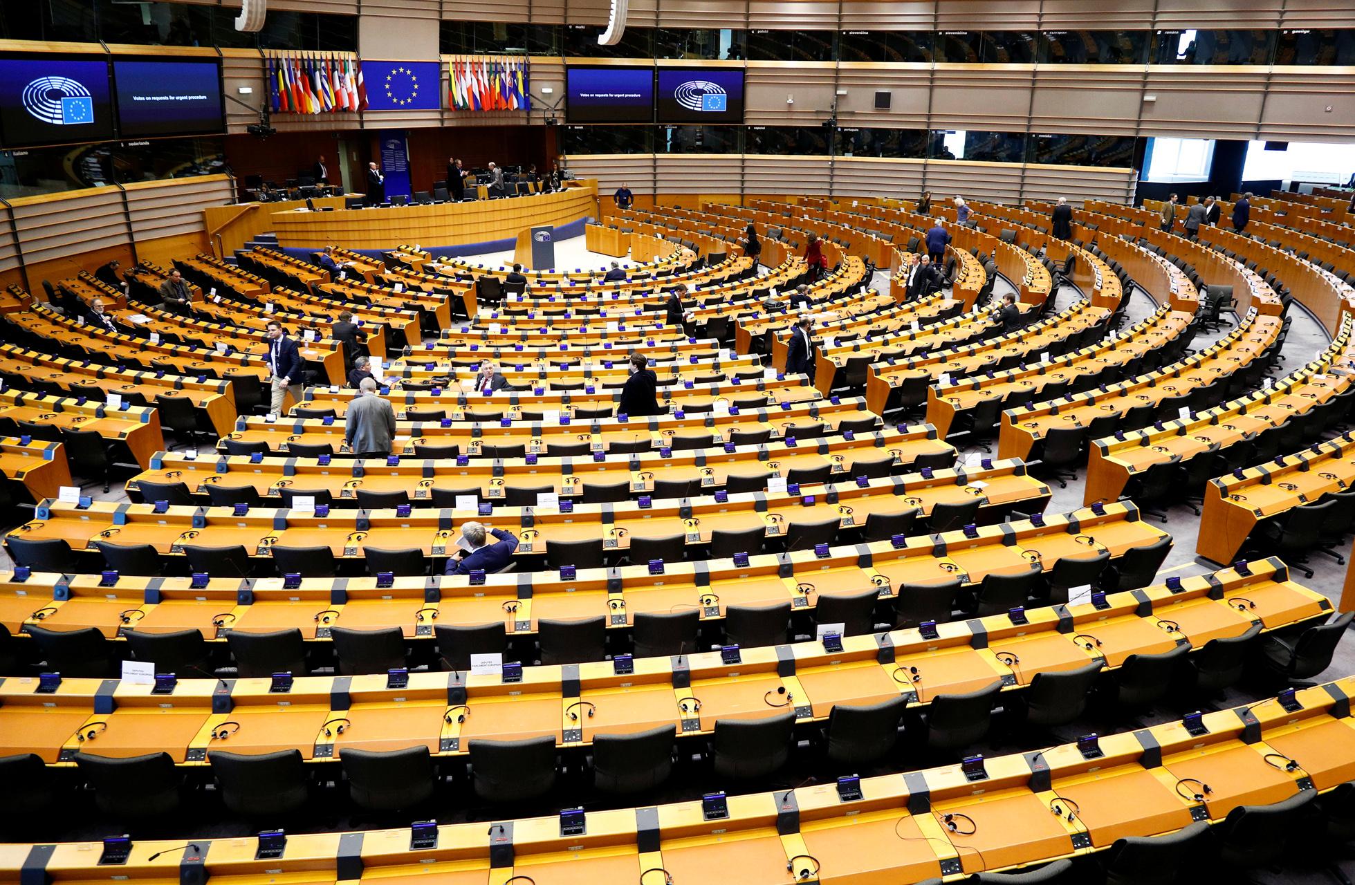 Σε κέντρο ελέγχου για κορονοϊό μετατρέπεται το Ευρωπαϊκό Κοινοβούλιο στο Στρασβουργο
