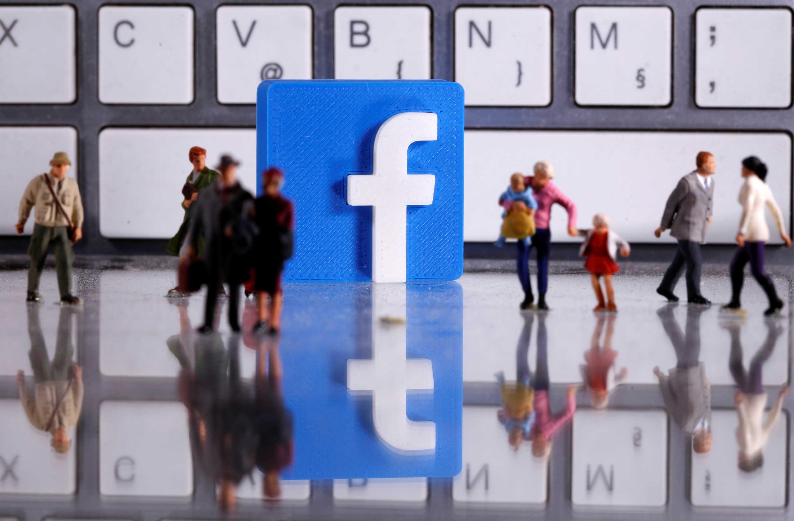 κορονοϊός Facebook