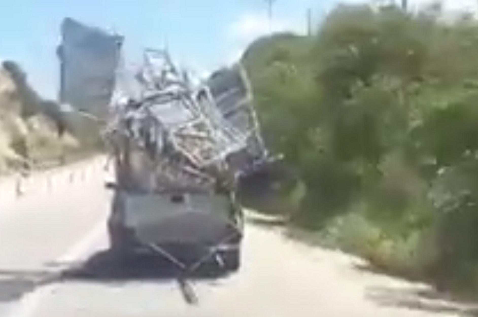 Κρήτη: Οδηγός – Χάρος της ασφάλτου (video)