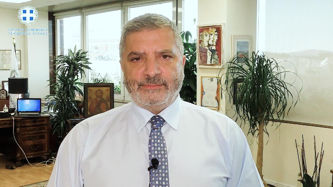 Γιώργος Πατούλης: «Όλοι ενωμένοι θα νικήσουμε! Καλό Πάσχα»