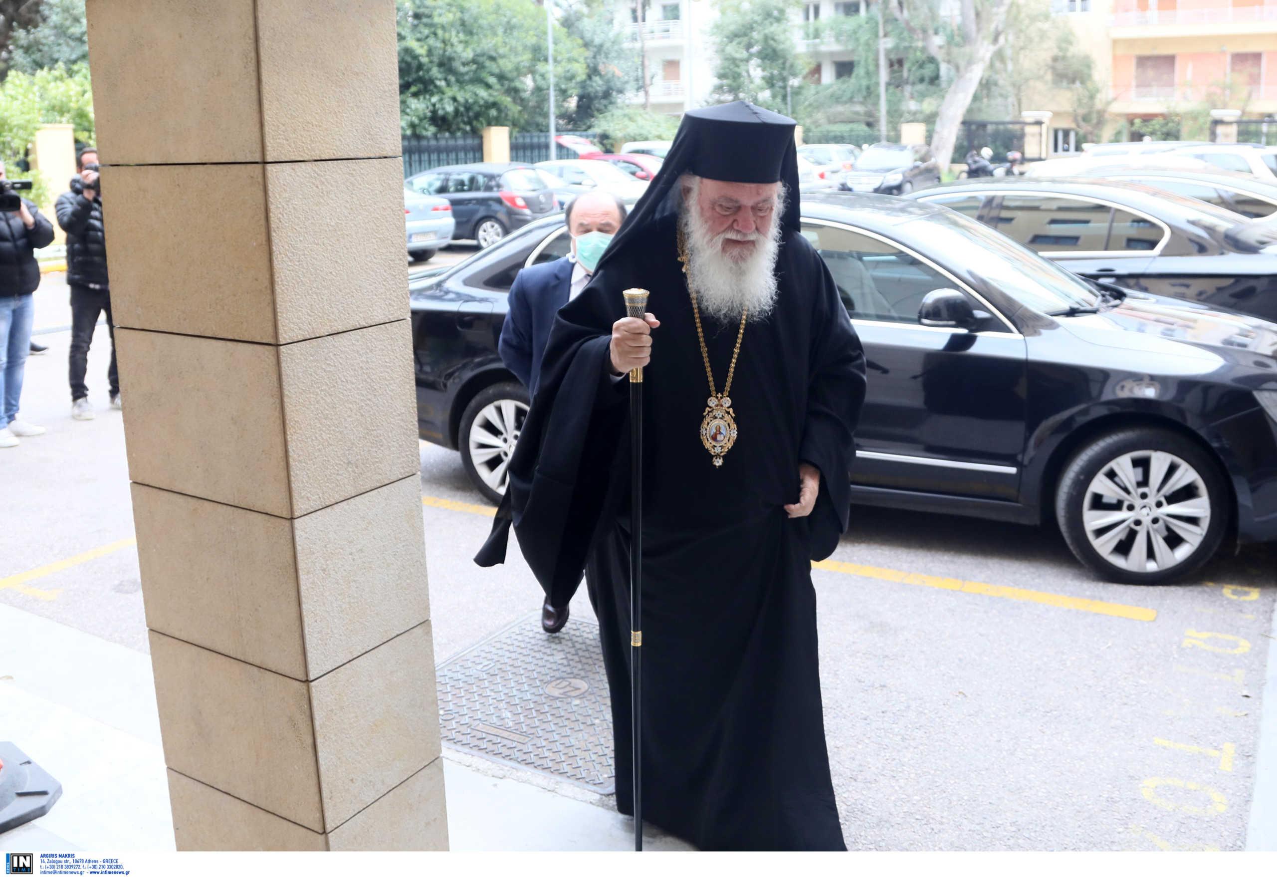 Αρχιεπίσκοπος Ιερώνυμος: Παραμένει στη ΜΑΦ του Ευαγγελισμού σε σταθερή κατάσταση