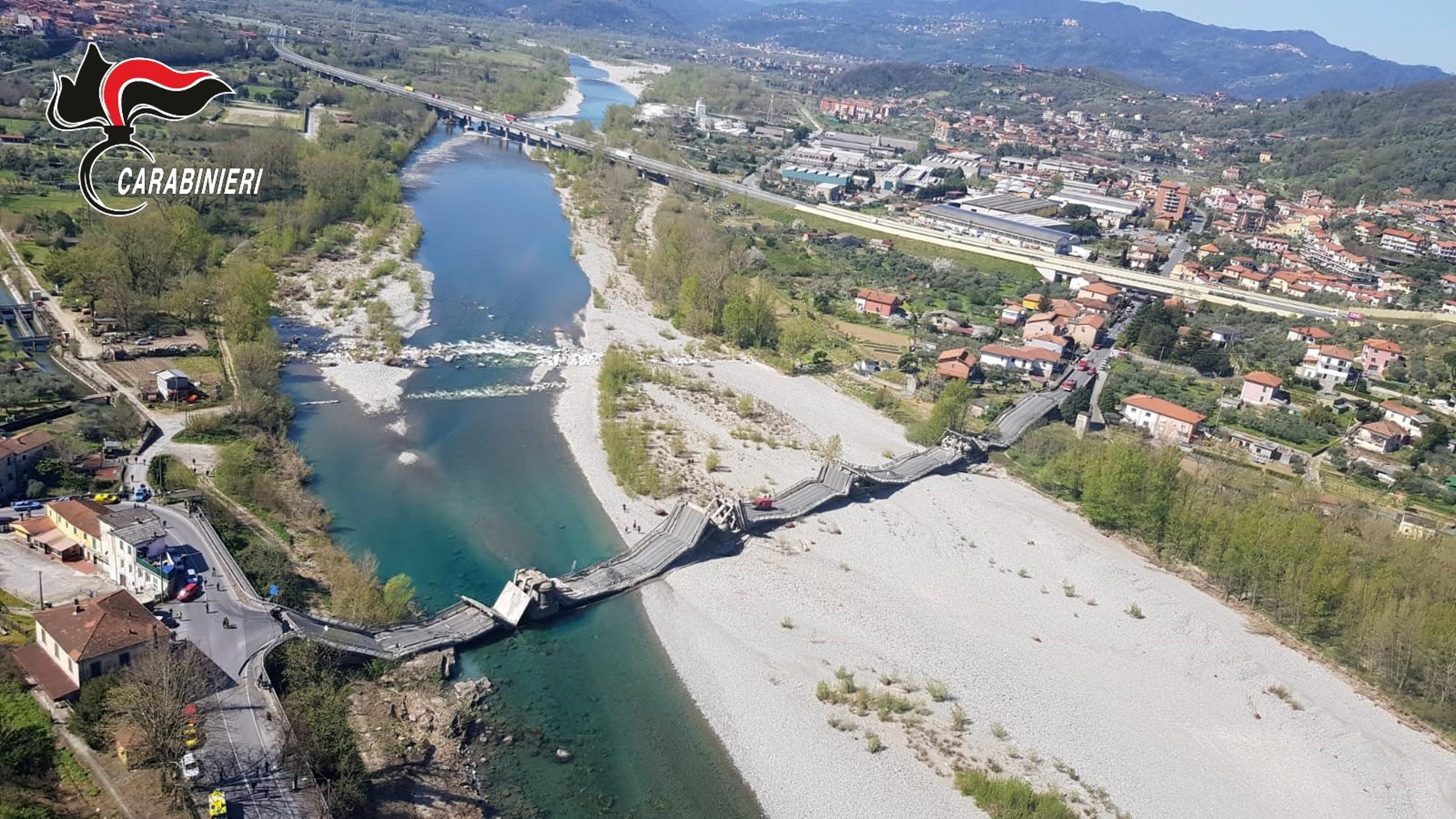 Ιταλία: Κατέρρευσε τεράστια γέφυρα! Ευτυχώς… υπάρχει απαγόρευση κυκλοφορίας (pics, video)