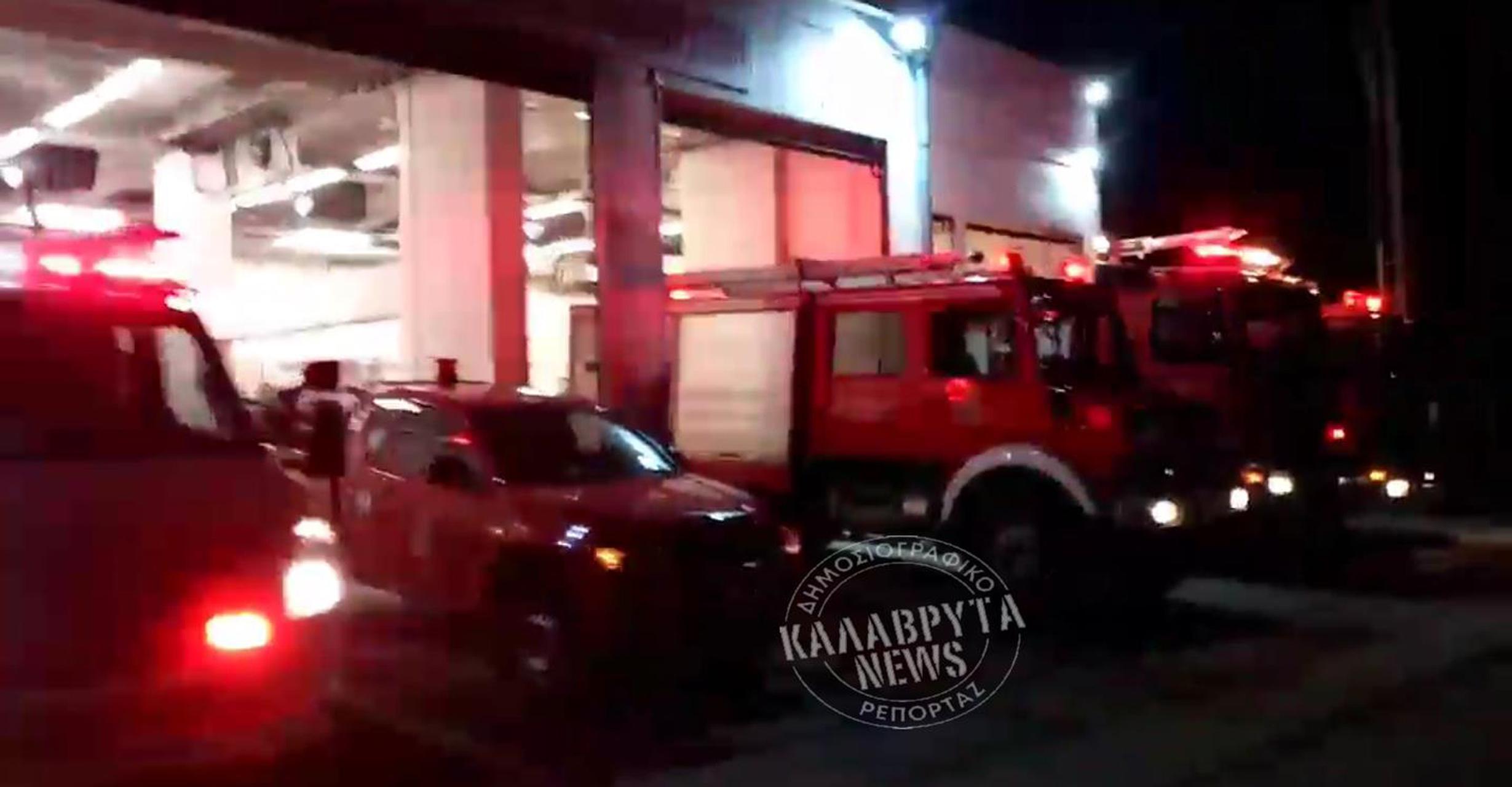 """Καλάβρυτα: Οι πυροσβέστες είπαν το """"Χριστός Ανέστη"""" με τον πιο… ηχηρό τρόπο"""