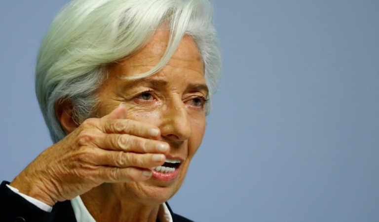 Δράσεις για τη σωτηρία της ευρωπαϊκής οικονομίας προανήγγειλε η Λαγκάρντ