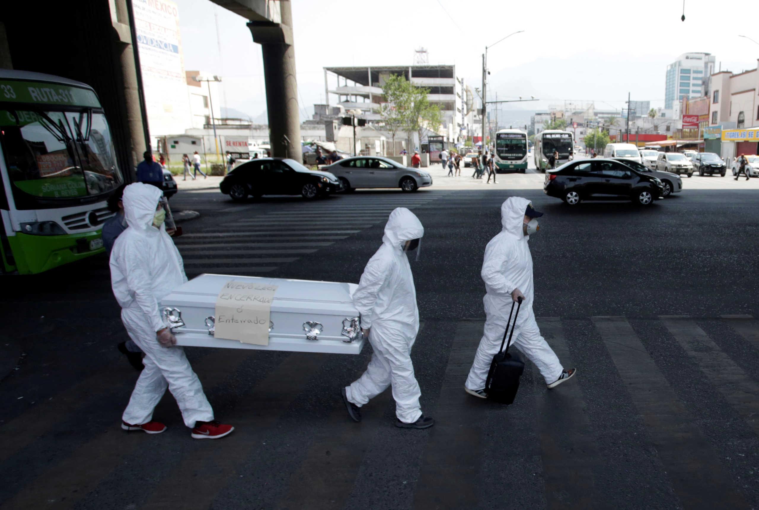 Μεξικό: Ρεκόρ δολοφονιών εν μέσω κορονοϊού