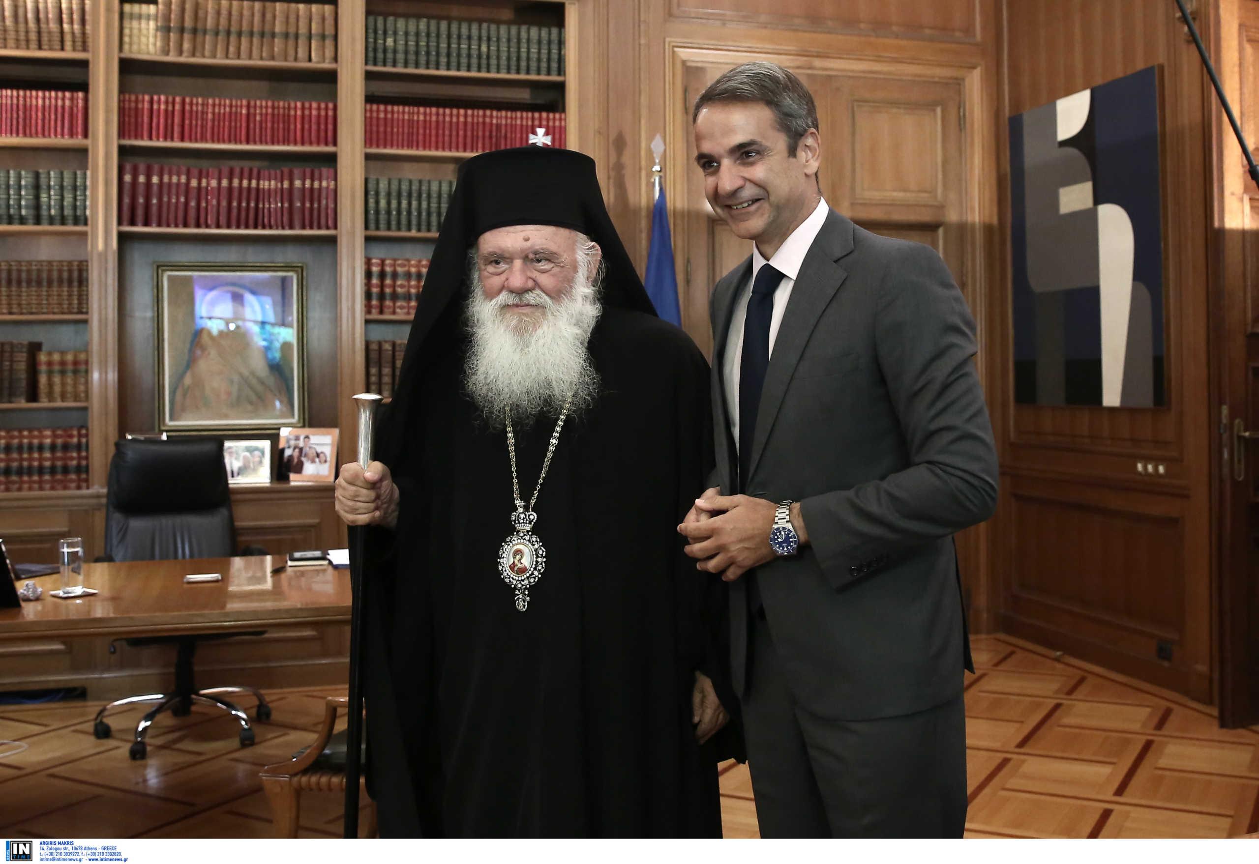 Ιερώνυμος σε Μητσοτάκη: Άνοιξε τις εκκλησίες