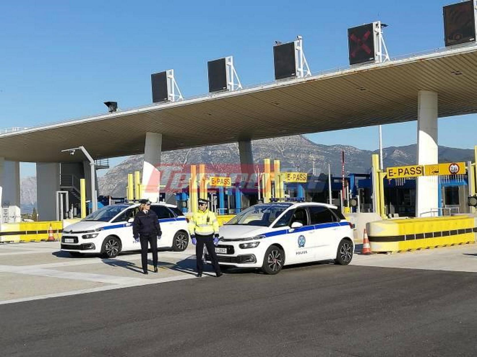 """Δεν περνάει κανείς από τα διόδια – """"Στοπ"""" σε επιβάτες λεωφορείου στη Γέφυρα Ρίου  Αντιρρίου (pics)"""