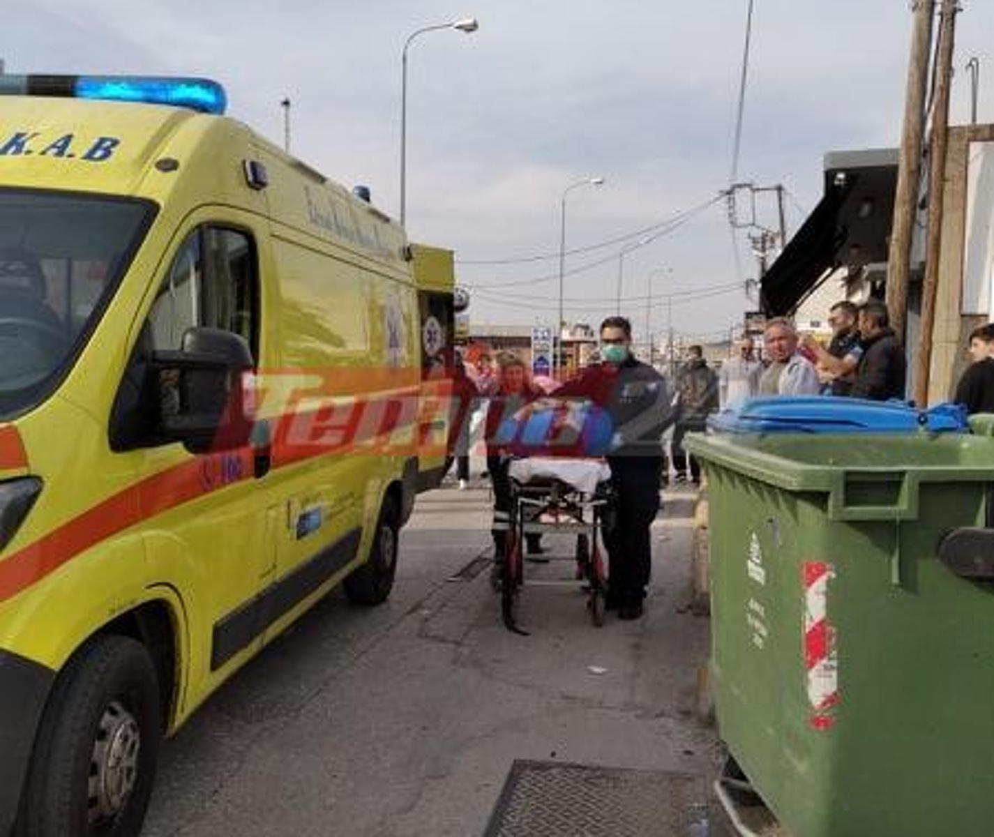 Πάτρα: Σοβαρό τροχαίο με δύο τραυματίες