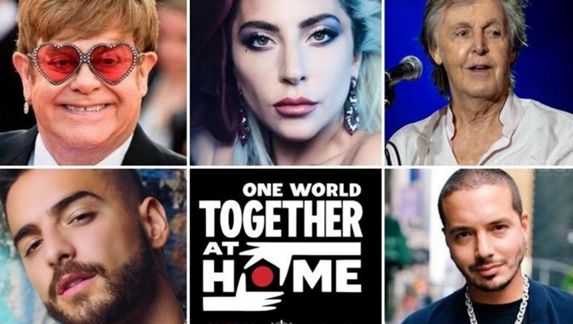 """Διαθέσιμο σε πλατφόρμες το άλμπουμ της συναυλίας """"One World: Together At Home"""""""