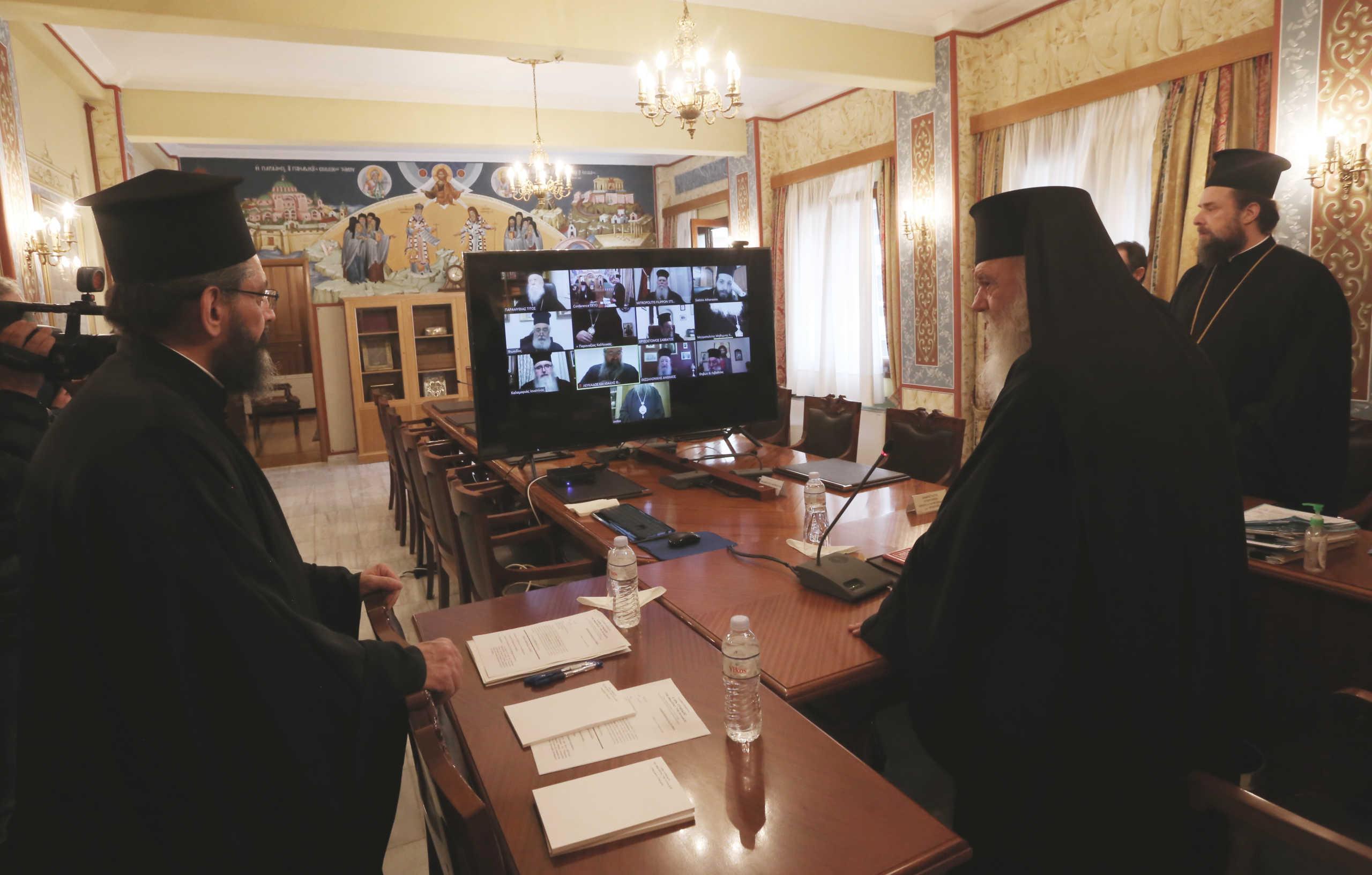 Τηλεδιάσκεψη και προσευχή! Η εισήγηση Ιερώνυμου στην Ιερά Σύνοδο και τι σκοπεύει να απαντήσει η κυβέρνηση