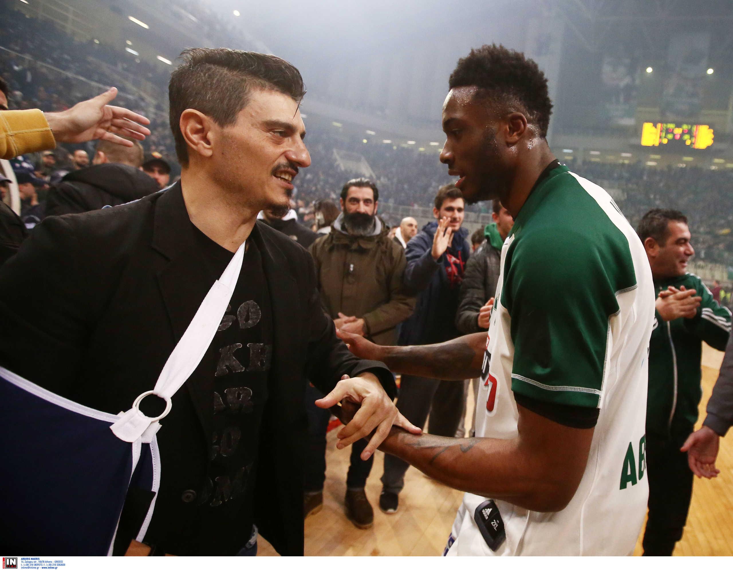 """Γιαννακόπουλος σε Θανάση Αντετοκούνμπο: """"Τελείωνε με το κ@λ@ NBA κι έλα"""""""