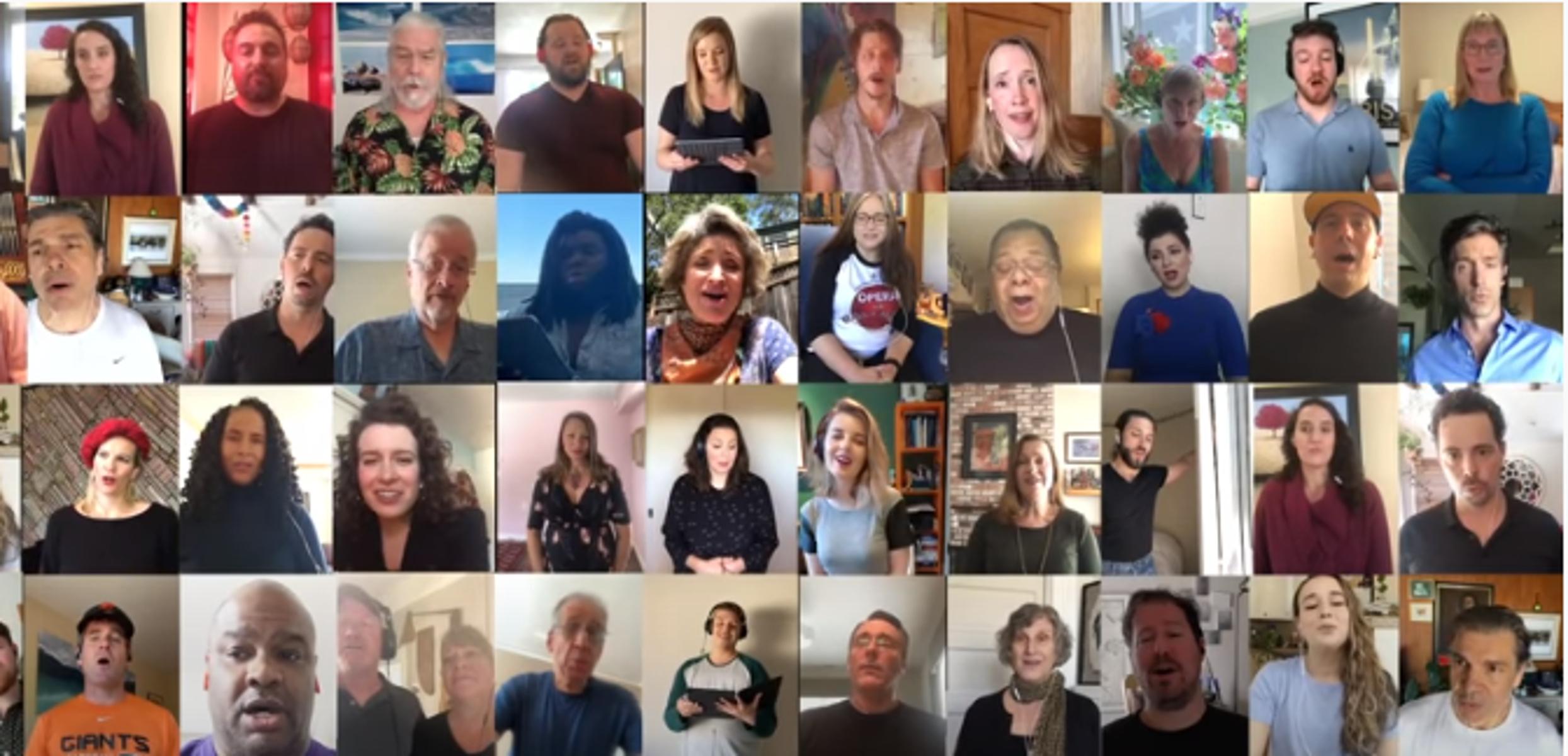 Οι κάτοικοι του Σαν Φρανσίσκο τραγούδησαν μαζί με τον Τόνι Μπένετ