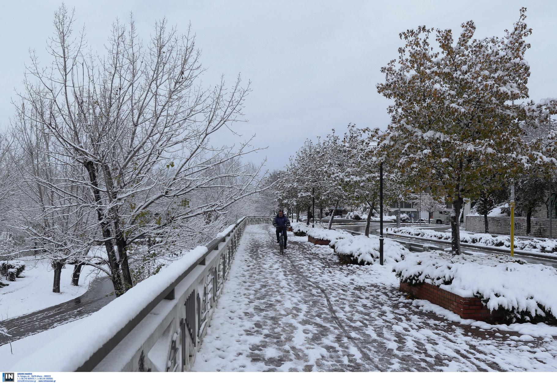 Καιρός – meteo: Ελάχιστο χιόνι στην Ελλάδα στις αρχές του 2021