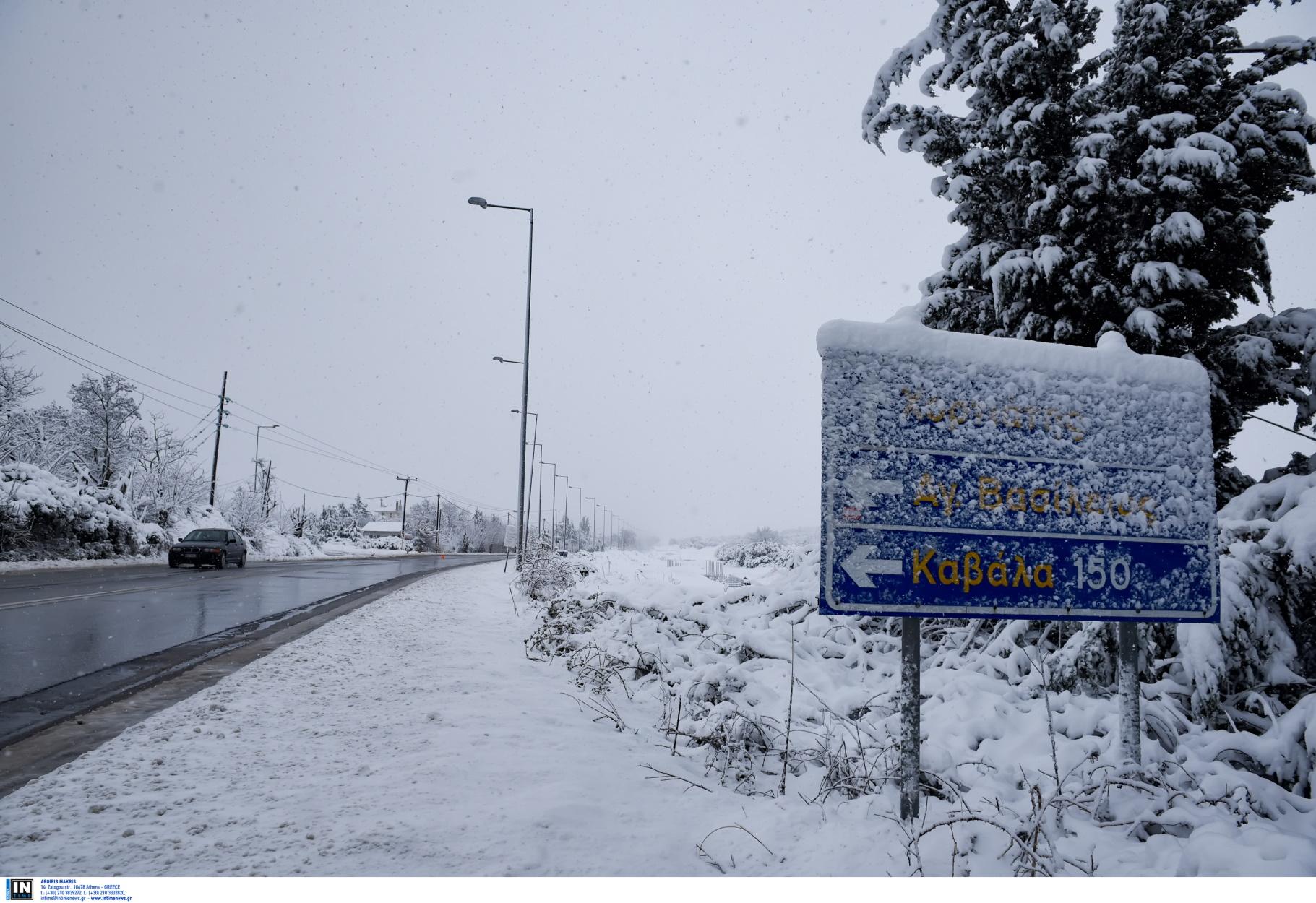 Καιρός – Μαρουσάκης: Που θα χιονίσει, σε τρεις φάσεις το πολικό ψύχος