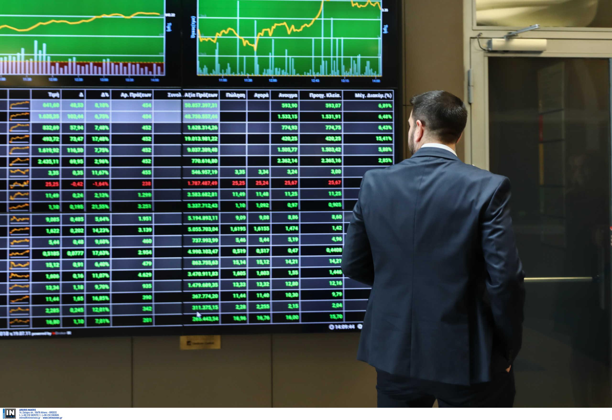 Χρηματιστήριο: Ισχυρή πτώση 2,42% – Στις 617,33 μονάδες το κλείσιμο