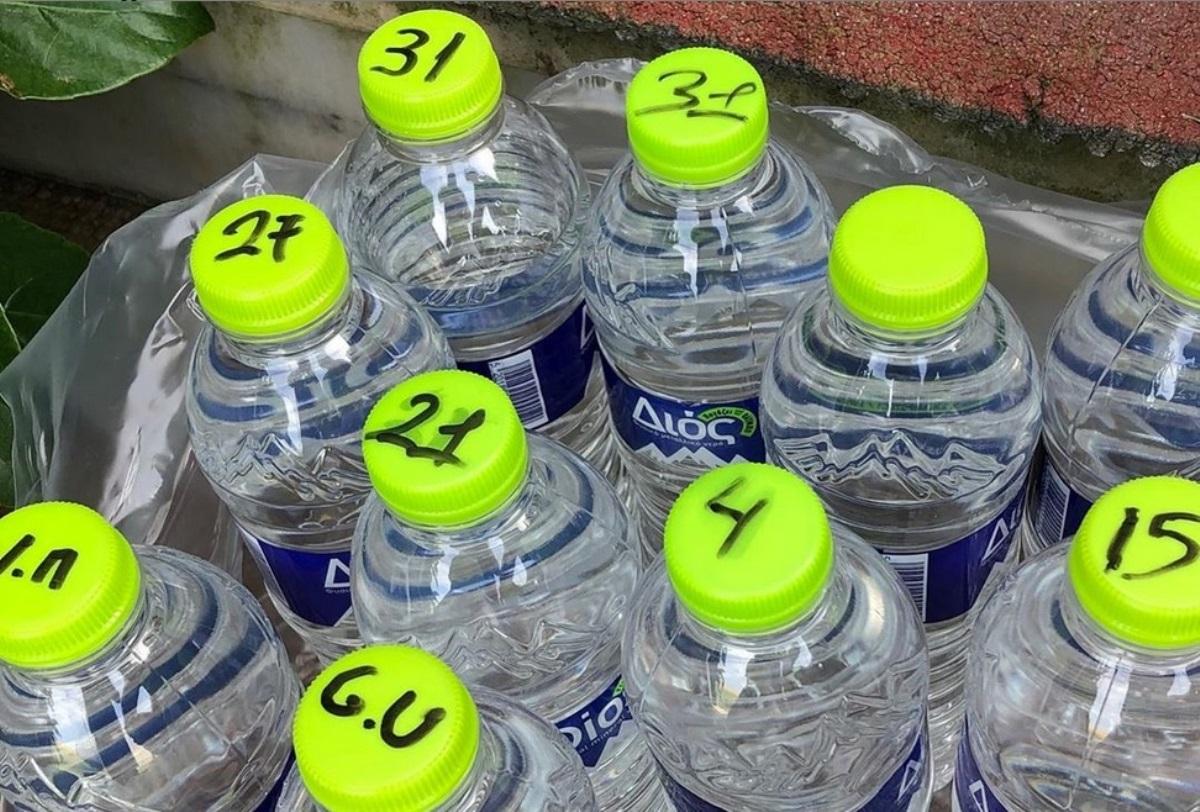 ΑΕΚ: Απόλυτη προσήλωση στους κανόνες! Με… διακριτικά τα μπουκαλάκια νερού (pic)