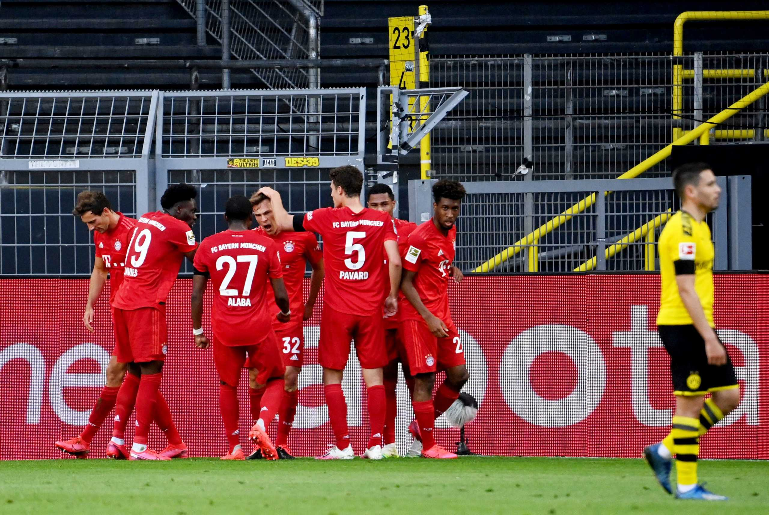 "Bundesliga: Η Μπάγερν ""σκότωσε"" τη Ντόρτμουντ και ""άγγιξε"" τον τίτλο (video)"