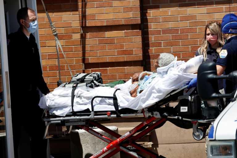 ΗΠΑ: Αυξήθηκαν ξανά οι ημερήσιοι θάνατοι από κορονοϊό! 1.297 νεκροί το τελευταίο 24ωρο