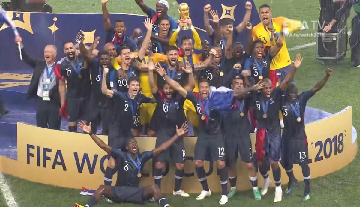 Παίκτης της εθνικής Γαλλίας πούλησε σε δημοπρασία το χρυσό μετάλλιο του Μουντιάλ 2018! (pic)