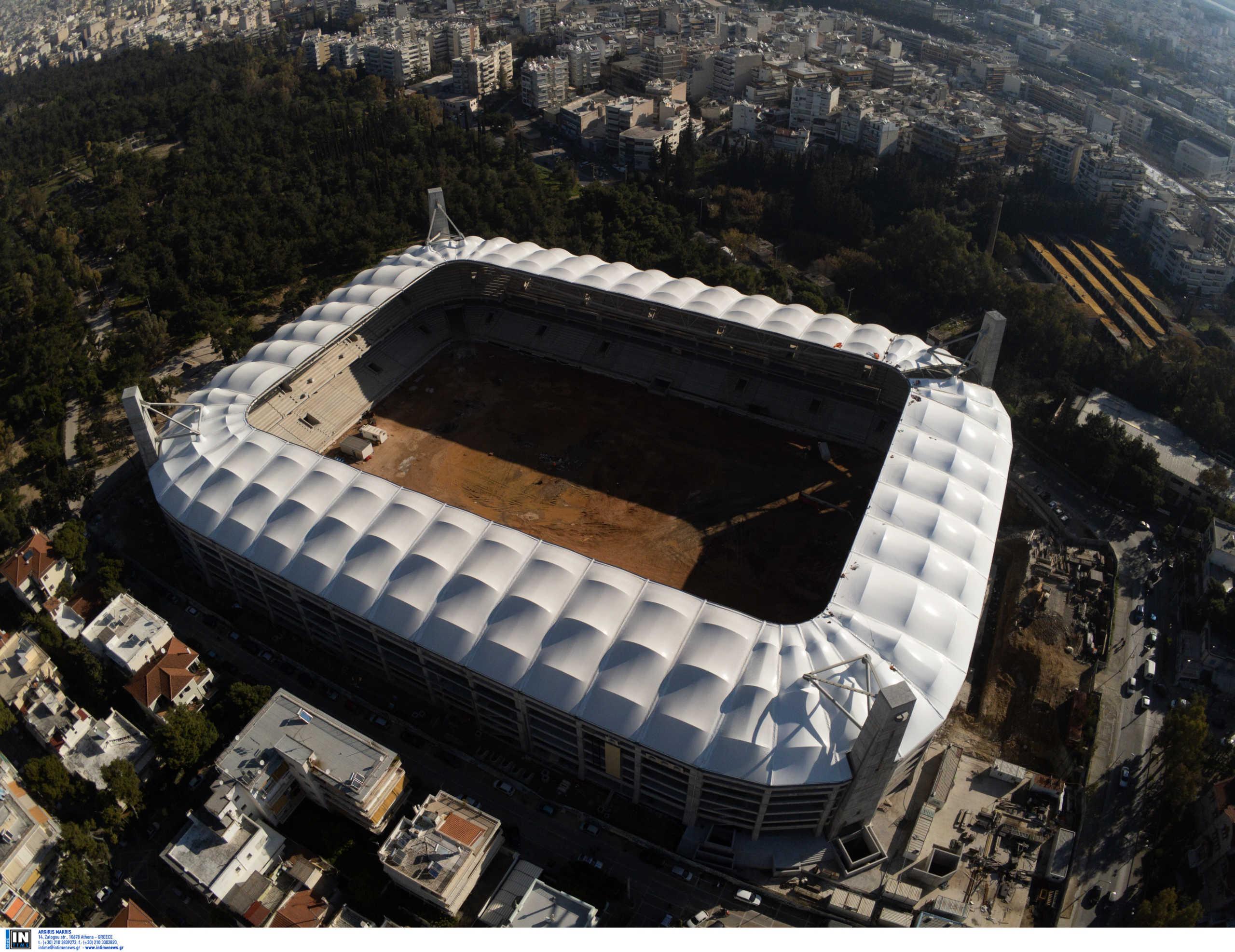 Γήπεδο ΑΕΚ: «Έτοιμο για το δεύτερο γύρο του πρωταθλήματος» είπε ο Βούρος