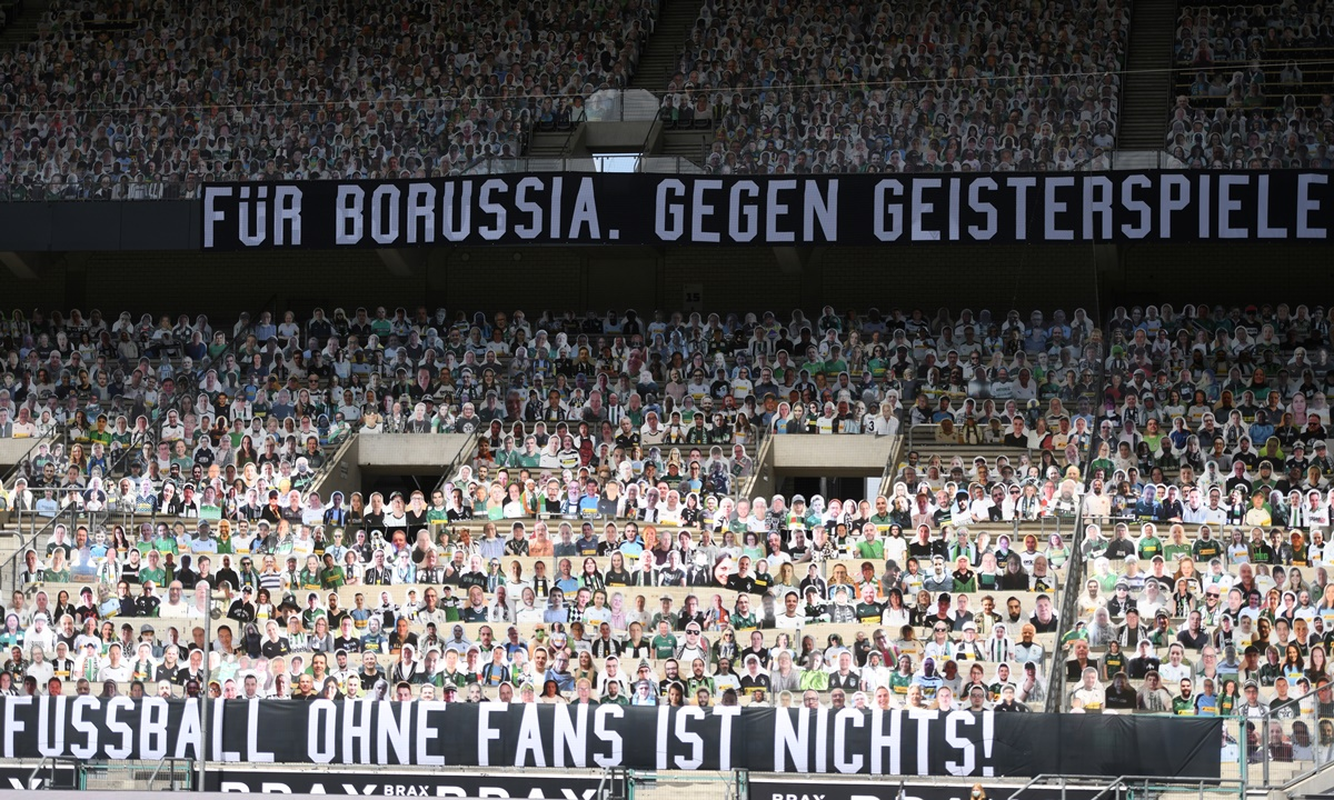 Απίστευτες εικόνες στην Bundesliga! 13.000 «οπαδοί» στο Γκλάντμπαχ – Λεβερκούζεν (video)