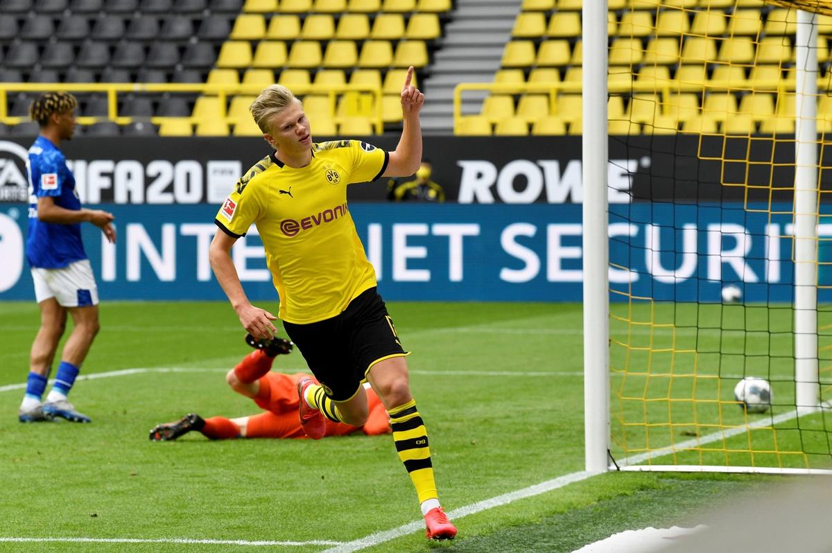 Bundesliga: Ο Χάαλαντ πέτυχε το πρώτο γκολ στην… εποχή του κορονοϊού! video