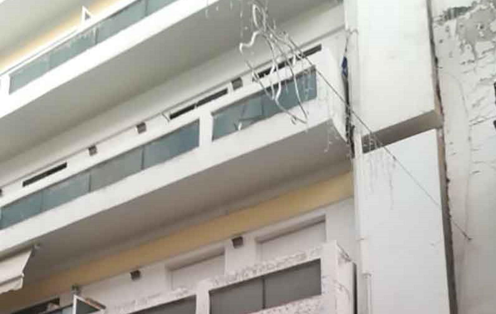 Κοζάνη: Γυναίκα έπεσε από τον 2ο όροφο πολυκατοικίας (pics)