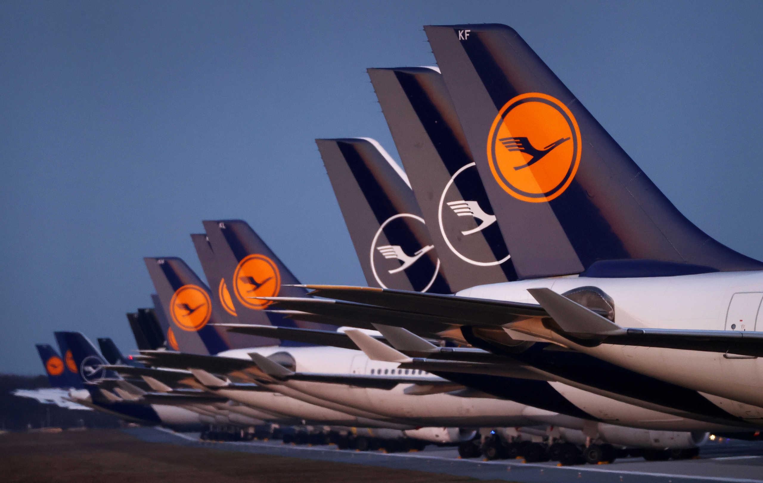 Lufthansa Μέρκελ