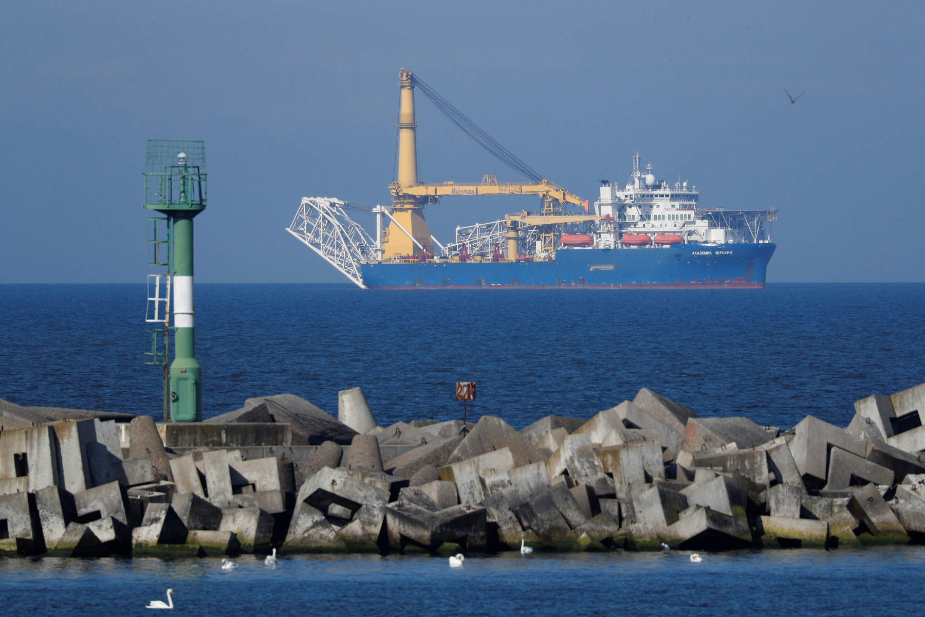 Ρωσία: Καμιά αλλαγή στα σχέδια για την κατασκευή του αγωγού Nord Stream 2