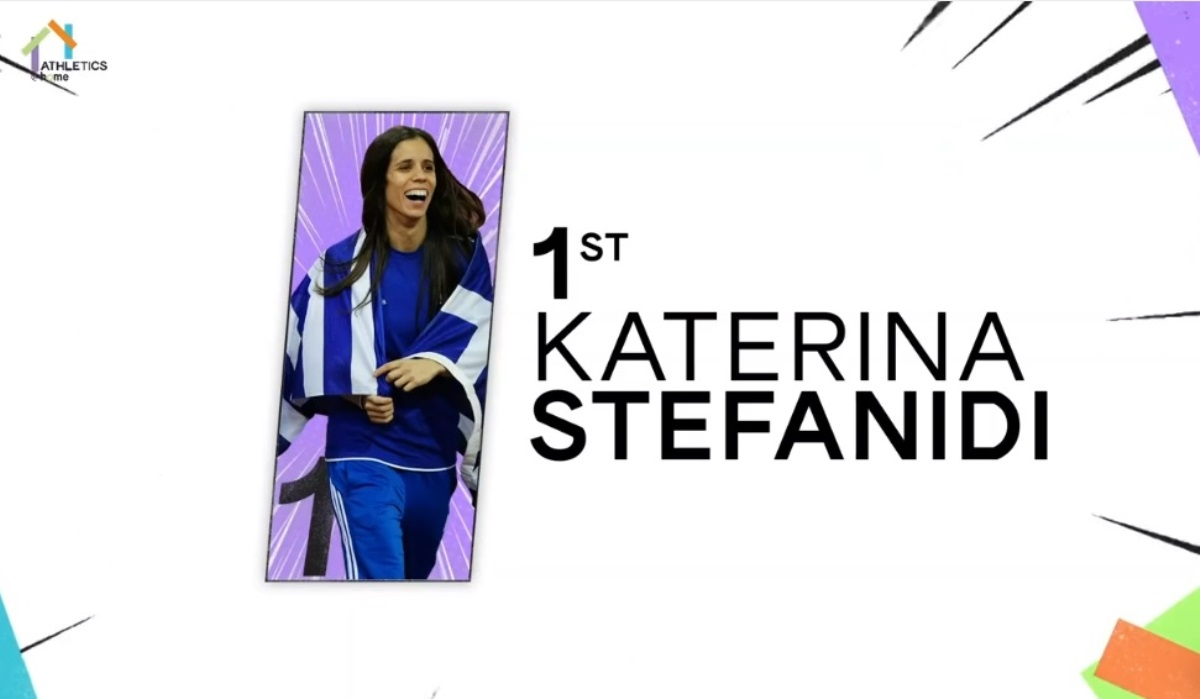 Η Κατερινα Στεφανίδη νίκησε και σε αγώνα… αντοχής! (video)