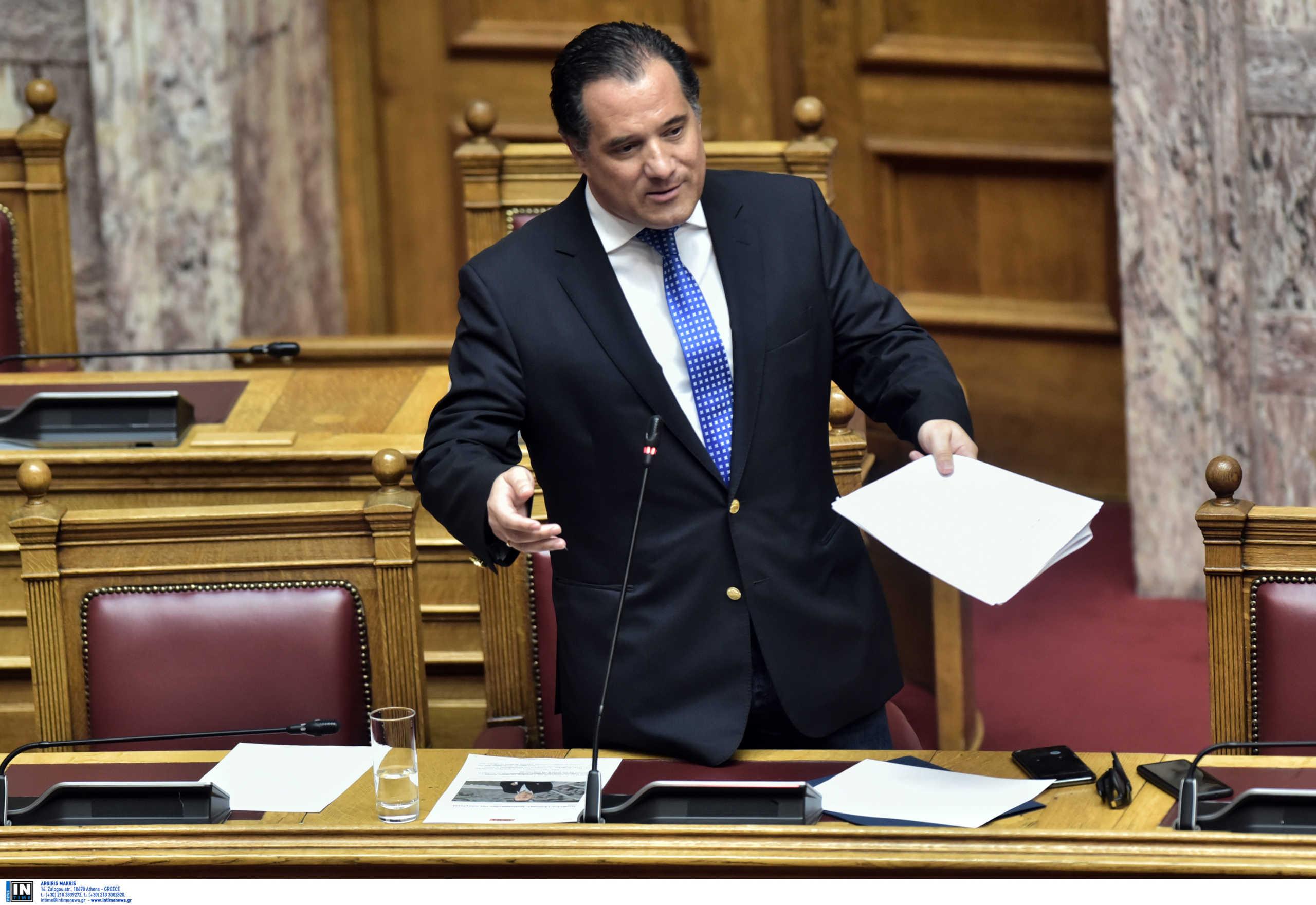 Γεωργιάδης: «Δεν παραχωρούμε στις ασφαλιστικές το μονομερές δικαίωμα της αναπροσαρμογής»