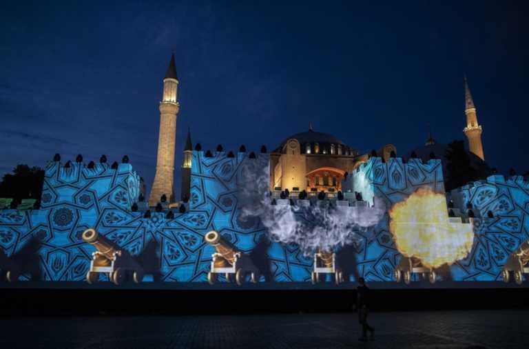 Ερντογάν... εκτός ελέγχου: Η Αγιά Σοφιά προσφέρθηκε στους μουσουλμάνους ως δικαίωμα της Αλωσης της Πόλης