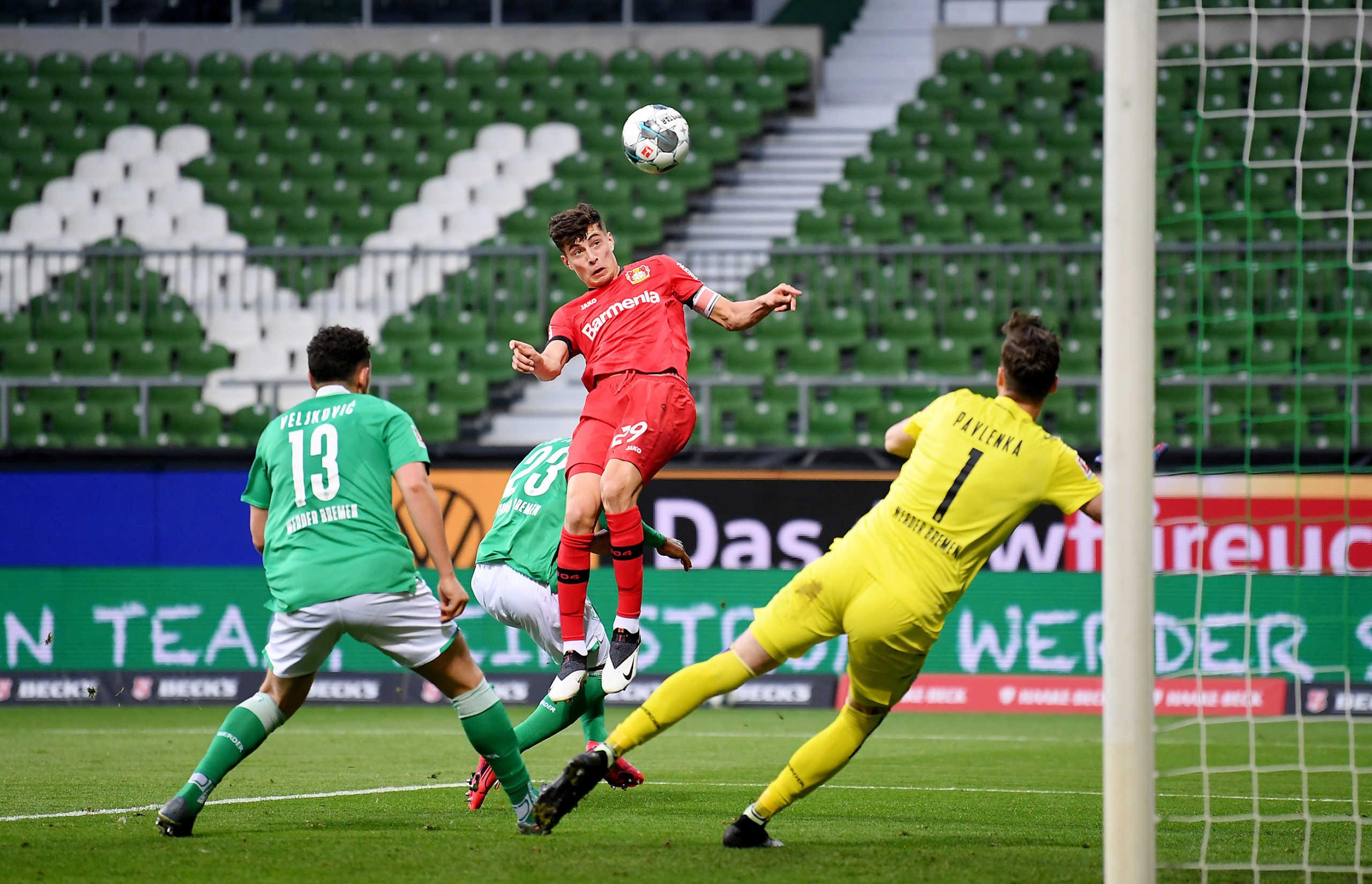 """""""Φωτιά"""" στη Bundesliga για το Champions League με την """"τεσσάρα"""" της Λεβερκούζεν (video)"""