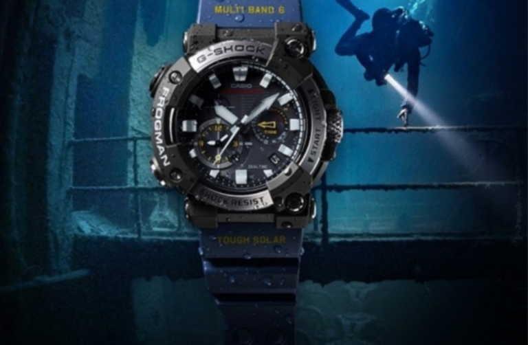 Το νέο καταδυτικό ρολόι Frogman της G-Shock θα σας αφήσει με το στόμα ανοιχτό!