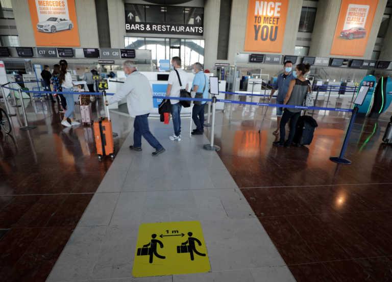 Κορονοϊός: Η Γαλλία απαιτεί PCR τεστ 72 ωρών και από τους Ευρωπαίους ταξιδιώτες